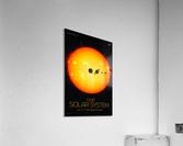 Our solar system  Acrylic Print