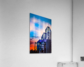 Sunset at the National Gallery of Canada  Acrylic Print