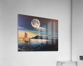 solitaire  Acrylic Print