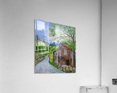 swiss cottage  Acrylic Print