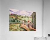 Village countryside  Acrylic Print