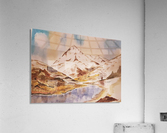 Ladakh Stream  Acrylic Print