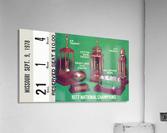 1978 notre dame football ticket stub prints  Acrylic Print