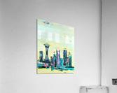 Uptown Seattle   Acrylic Print