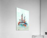 Uptown XII  Acrylic Print