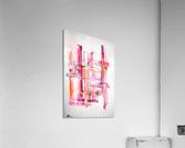 Pink Lady  Acrylic Print