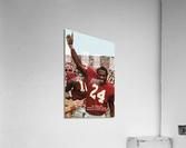 1974 oklahoma sooners football national champions poster sports wall art  Acrylic Print