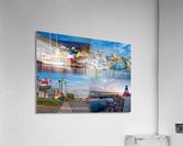 Cheticamp Collage  Acrylic Print