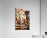 Large bright showcase by Macke  Acrylic Print