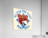 1940_Major League Baseball_Chicago Cubs  Acrylic Print