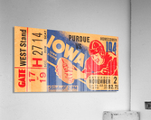 1940 Iowa vs. Purdue  Acrylic Print