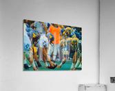 1981 College Football Photo West Virginia Pitt Panthers Wall Art  Acrylic Print
