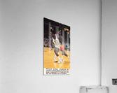 1984 Michael Jordan North Carolina Poster  Acrylic Print