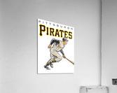 vintage pittsburgh pirates wall art  Acrylic Print
