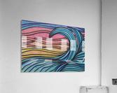Twilight Wave   Acrylic Print