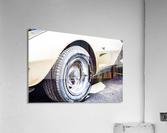 Old corvette   Acrylic Print