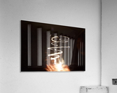 Fire twisted   Acrylic Print