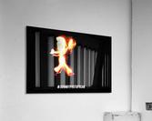Fire Stick Man   Acrylic Print