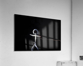 light stick man  Acrylic Print