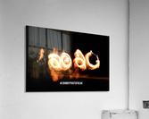 2020 Fire light painting  Acrylic Print