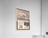1963 brooks robinson rawlings baseball glove ad  Impression acrylique