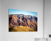 Death Valley mountain  Acrylic Print