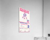 1972 new england patriots schaefer stadium art  Acrylic Print