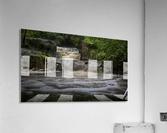 Rushing water at Horseshoe falls  Acrylic Print