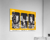 1968 los angeles lakers poster  Acrylic Print