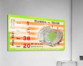 1962 Miami vs. Florida   Acrylic Print