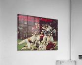 1983 houston cougars football  Acrylic Print