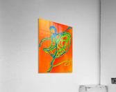 Burning desire to dance  Acrylic Print
