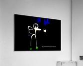 Stickman light comfort  Acrylic Print