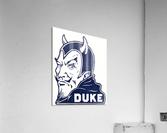 1950s duke university blue devil college art  Acrylic Print