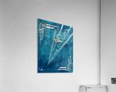 Art deco Swallow   Acrylic Print