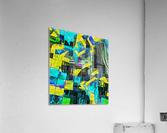 Hyperkaleidoscopically  Acrylic Print