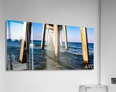 Good Morning Pier  Acrylic Print