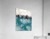 Blue Gray Black Abstract DAP 20013  Acrylic Print