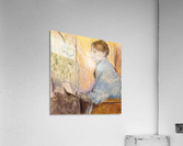 Mme Henri Rouart before a  statue by Degas  Acrylic Print