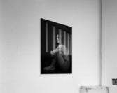 Black and White Woman Portrait 1  Acrylic Print