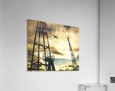 Sunset Sky  Impression acrylique