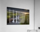 River Tawe sunset  Acrylic Print