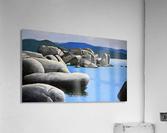 Lake Tahoe Rocky Cove  Acrylic Print
