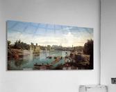 Tiber near the Porto di Ripa Grande  Acrylic Print