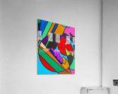 EATING THE WORLD   Acrylic Print