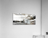 River Thames - London city skyline  Acrylic Print