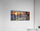 Couche soleil Penouille  Impression acrylique