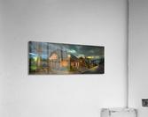 Rue de la Reine  Impression acrylique