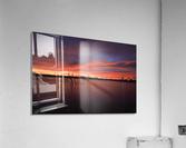 Lake Wellington Sunset  Acrylic Print
