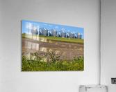 Grain Silos  Acrylic Print